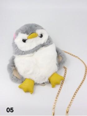 Cute Plush Penguin Bag