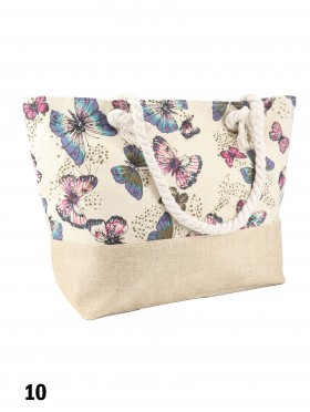 Canvas Fashion Printed Shoulder Tote