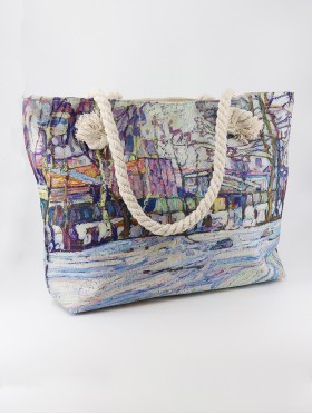 Oil Painting Shoulder Bag