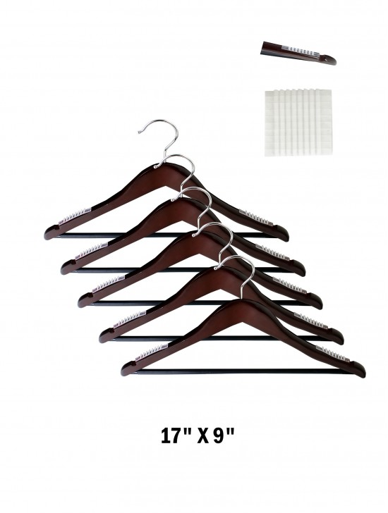 Sliding Resistant Clothes Hanger (5 PCS)