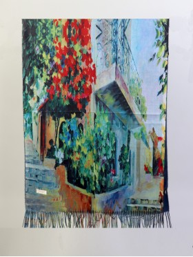 Oil Painting Design Fashion Scarf