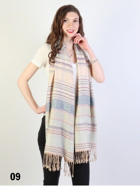 Tribal Fringe Scarf