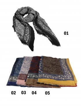 Paisley Print Fashion Scarf