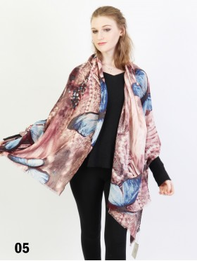 Butterfly Print Fashion Scarf