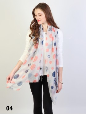 Fashion Polka Dots Design Fashion Scarf