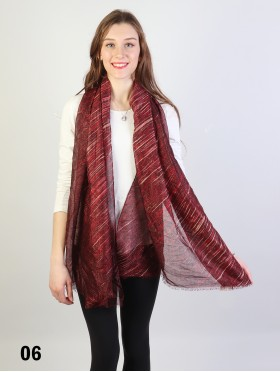 Fashion Diagonal Lines Design Fashion Scarf