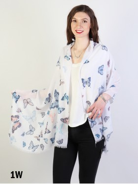 Fashion Butterfly Design Fashion Scarf