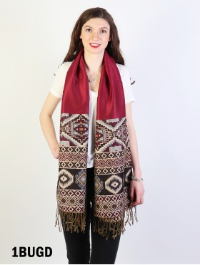 Tribal Print Pashmina Scarf