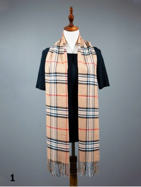 Fashion Plaid Premium Scarf