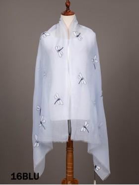 Dragonfly Stitch Fashion Scarf