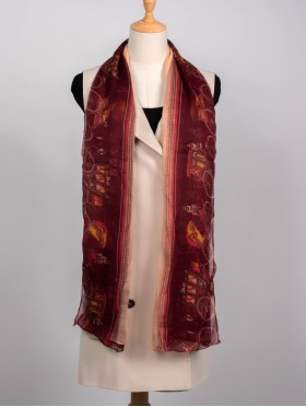 LINEN SCARF, CARRIAGE