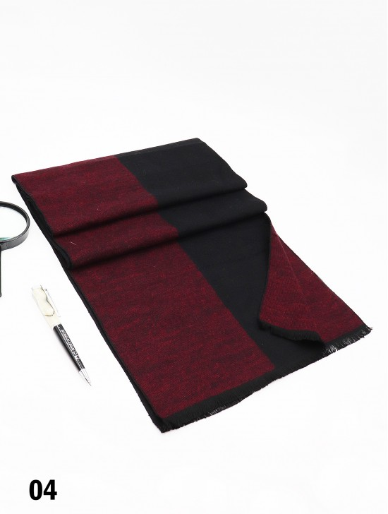 Unisex Reversible Two Tone Scarf