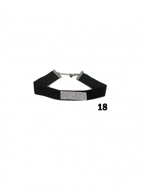 Fashion Choker W/ Charm