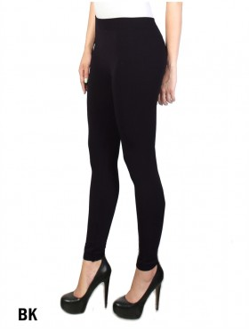 STRETCH FOOTLESS, FLEECE LINED TIGHTS