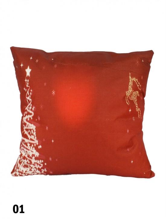 Christmas Spirit Cushion W/ Filler