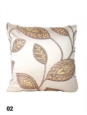 Leaves Print Cushion & Filler