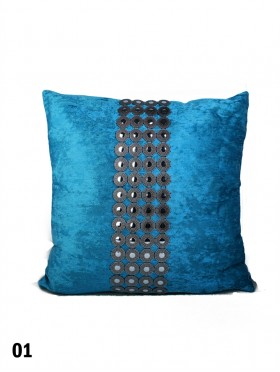 VELVET & BUTTONS CUSHION & FILLER