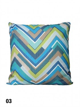 Chevron Pattern Cushion & Filler