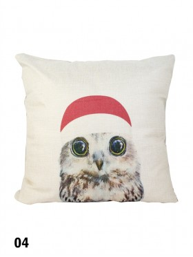 Birds Print Cushion & Filler (Dou-Sided)