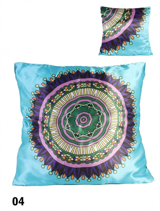 Abstract Print Silky-Touch Cushion & Filler