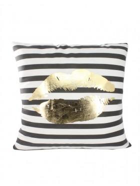 Lip Print Cushion & Filler