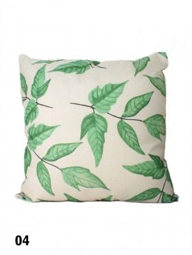 Leaf Print Cushion & Filler