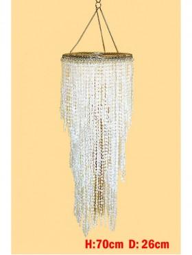 Clear Bead Lamp Shade