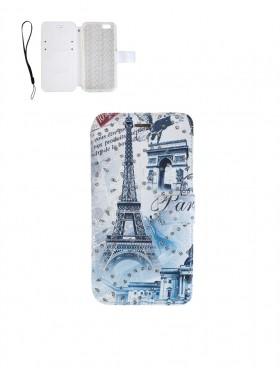 Rhinestone Cellphone Case-Eiffel Tower