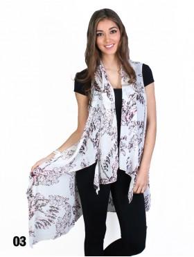 Fashion Chiffon Kimono Wrap