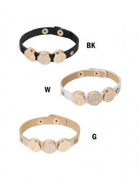 Wrap Bracelets W/ Smile Charms