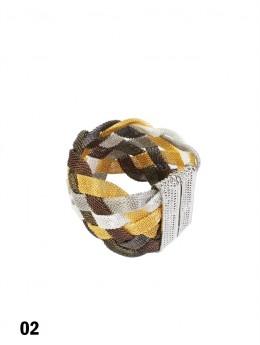 Multi Colour Woven Bracelet