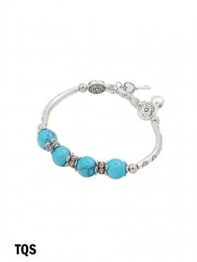 Stretch Bead Bracelets W/ Small Bell