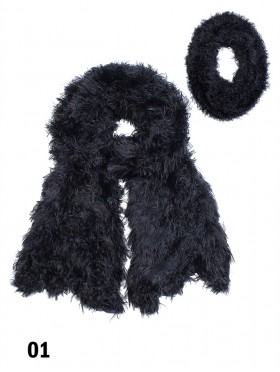 PREMIUM SOFT FUR MAGIC SCARF