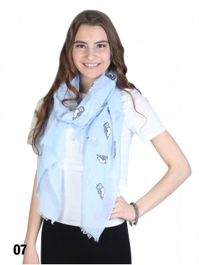 Owl Print Fashion Scarf