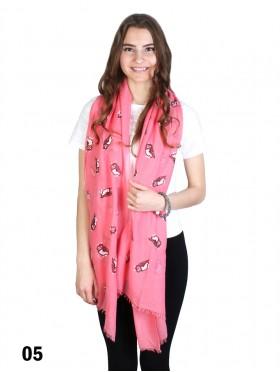 Owl Print Fashion Scarf