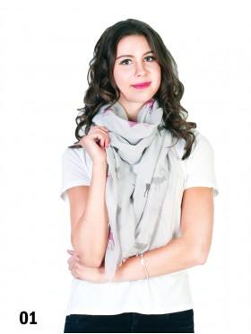 Caribou Print Fashion Scarf