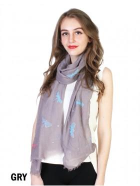 Dragonfly Print Fashion Scarf