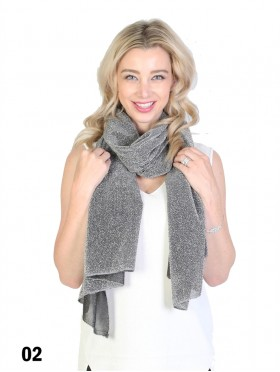 Sparkle Lurex Fashion Scarf
