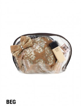 LACE COSMETIC BAG (2 PCS)