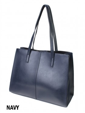 Solid Color Fashion Tote Bag