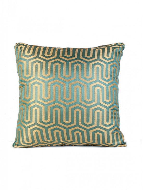 HONEY COMB DESIGN CUSHION COVER & FILLER
