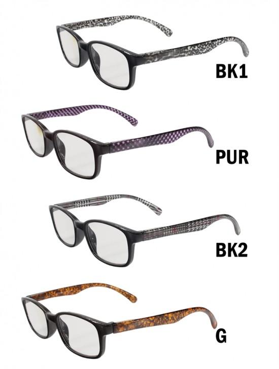 Patterned-Side Reading Glasses