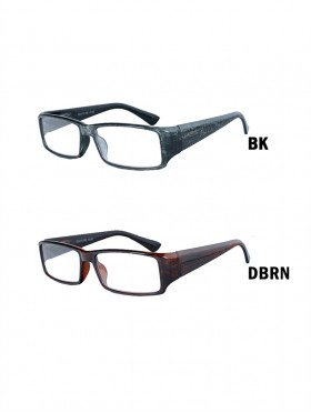 ABSTRACT TWO TONE READING GLASSES