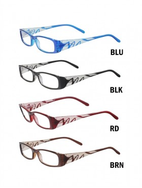 FLORAL SIDE READING GLASSES- LADIES