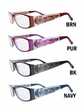 Wolf Side Reading Glasses W/ Free Pouch