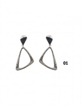 Abstract Drop Earring