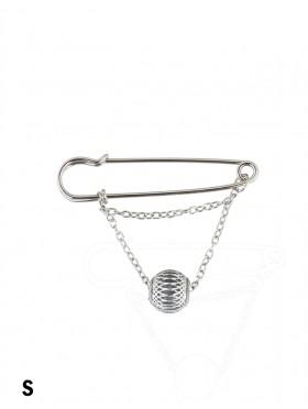 Ball Pendant Brooch Clip