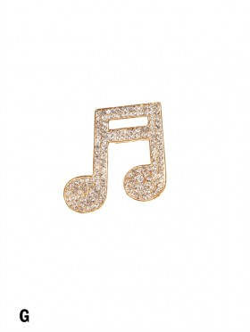 Music Brooch