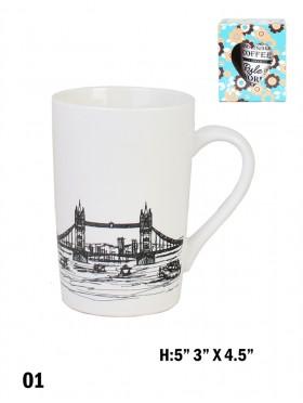 Landmark Print Mug