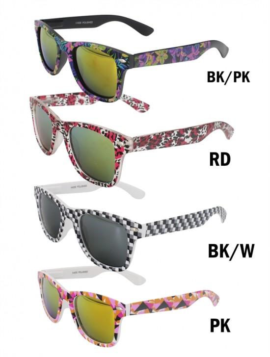 Basic Sunglasses W/ Colorful Frame